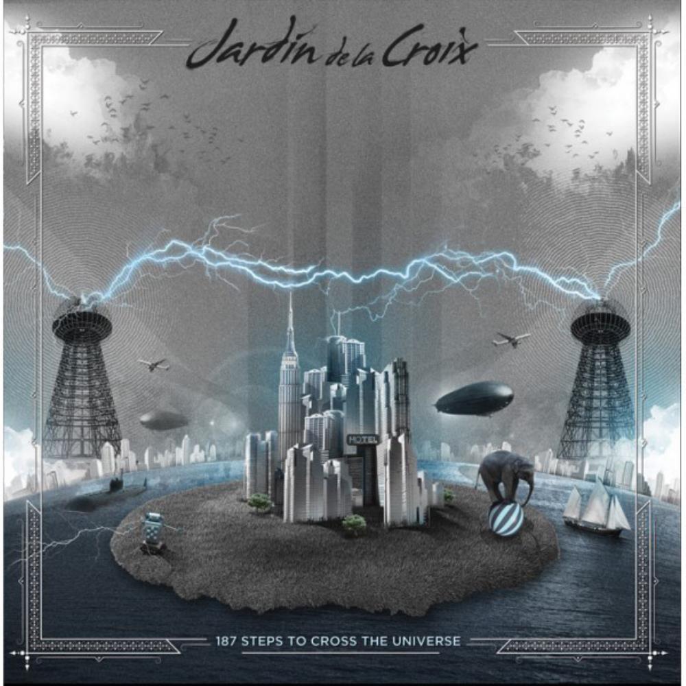 187 Steps To Cross The Universe by JARDÍN DE LA CROIX album cover