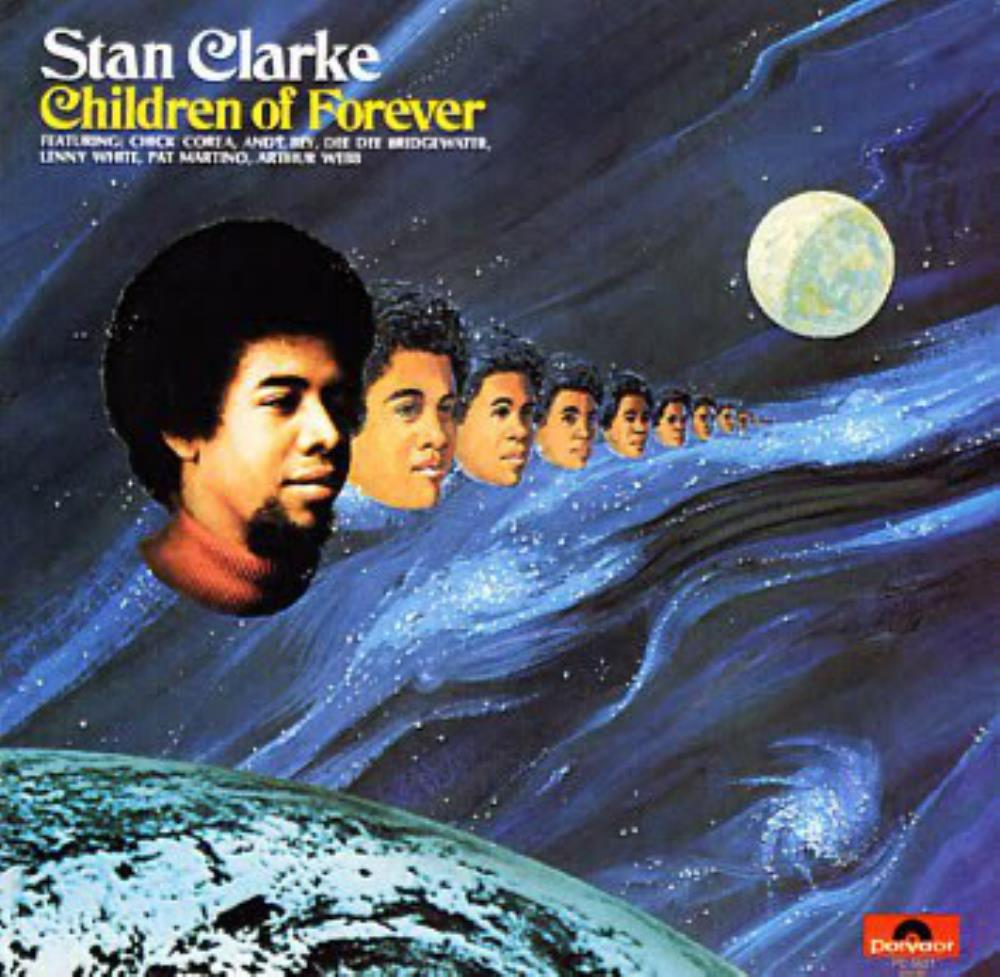 Children Of Forever by CLARKE, STANLEY album cover