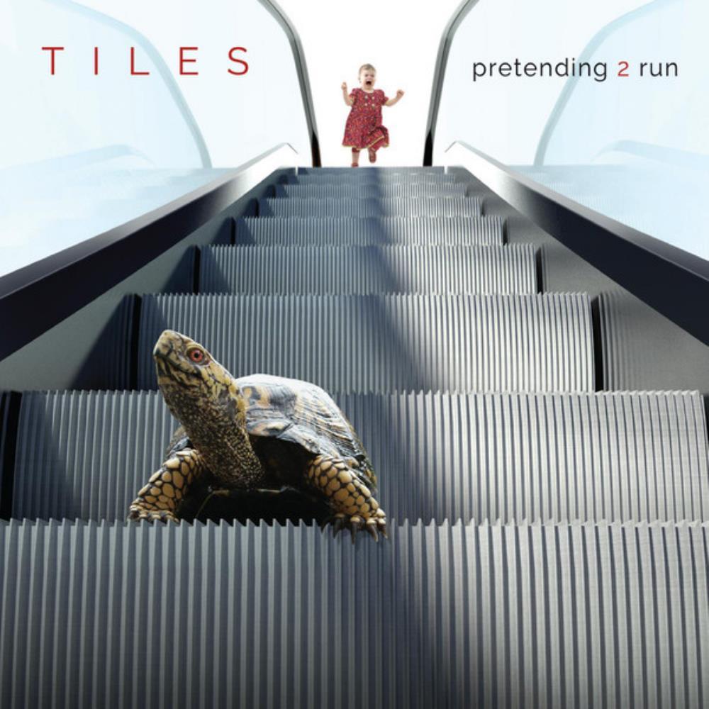 Pretending 2 Run by TILES album cover