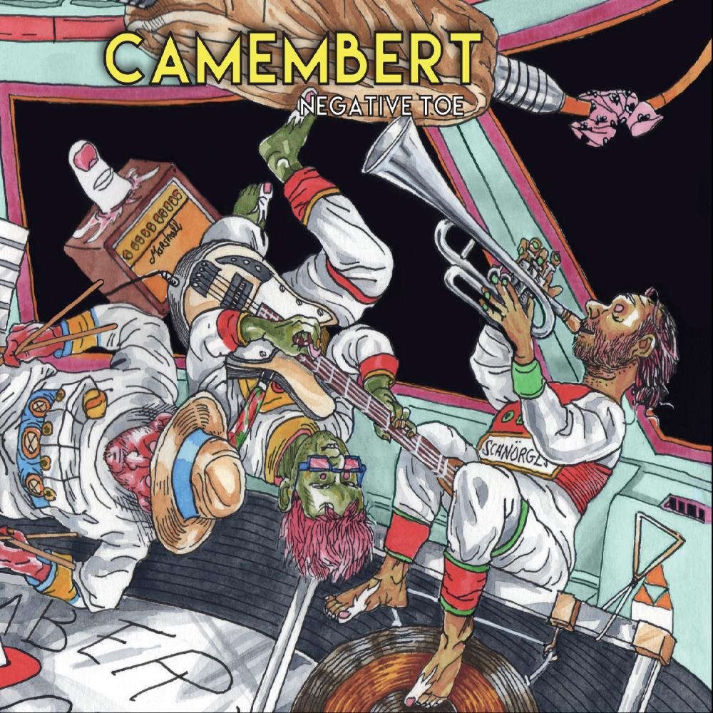 Camembert - Negative Toe CD (album) cover