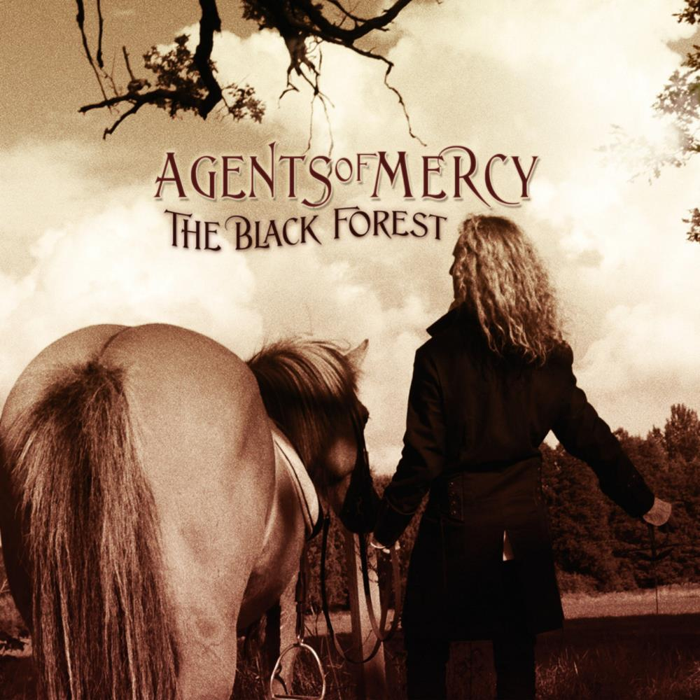 Agents Of Mercy - The Black Forest CD (album) cover