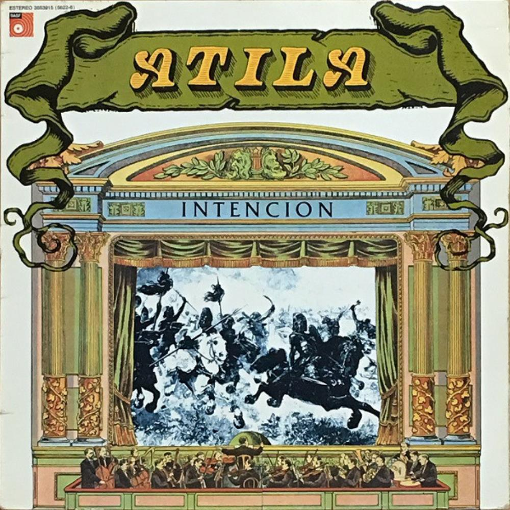 Atila Intencion album cover
