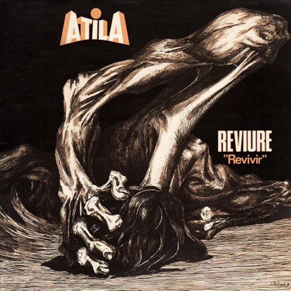 Reviure by ATILA album cover