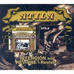 Atila - Intencion / Reviure CD (album) cover