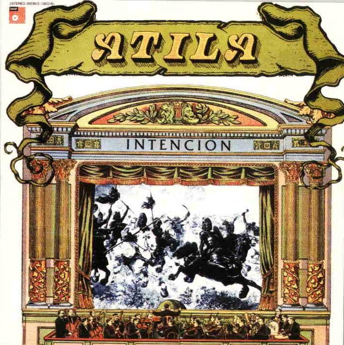 Intencion by ATILA album cover