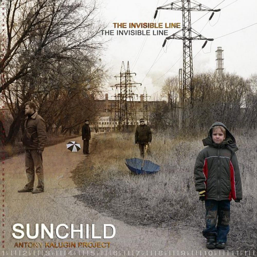 Sunchild - The Invisible Line CD (album) cover
