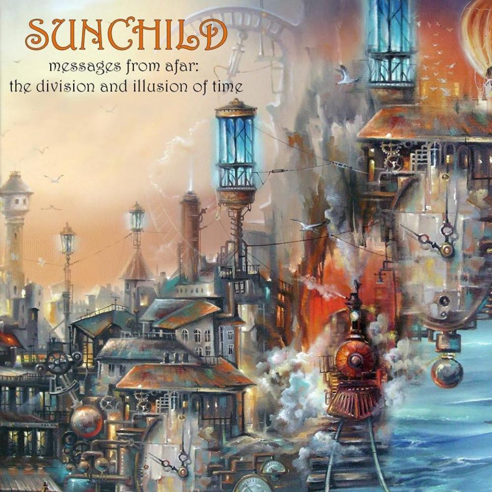 Sunchild - Messages From Afar - The Division And Illusion Of Time CD (album) cover
