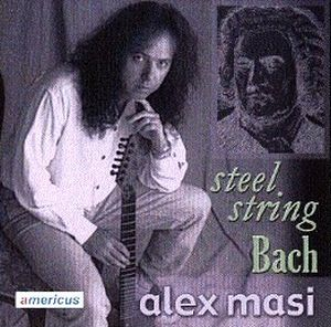Alex Masi Steel String Bach album cover