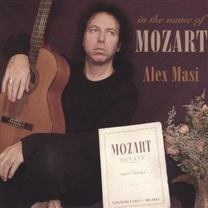 Alex Masi In The name Of Mozart album cover