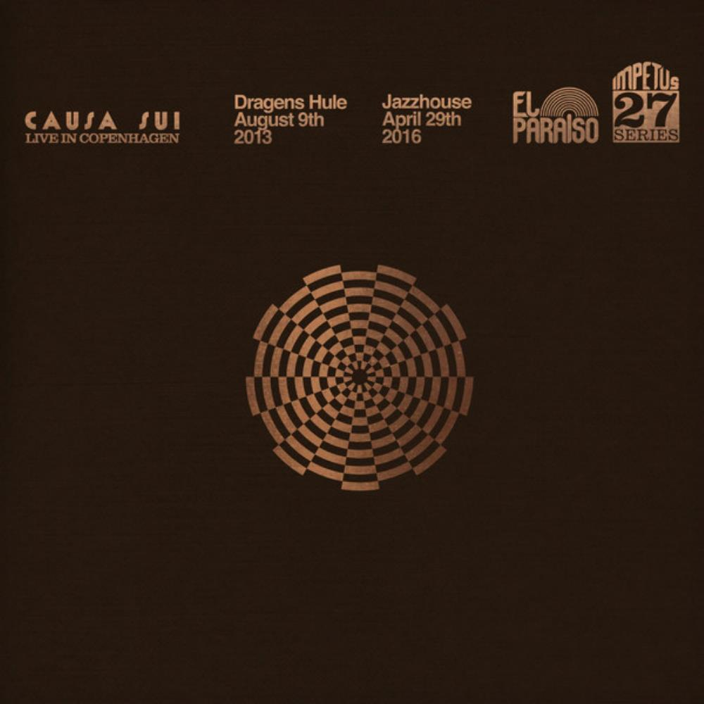 Live In Copenhagen by Causa Sui album rcover