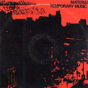 Material - Temporary Music CD (album) cover