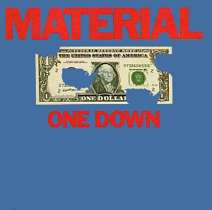 Material - One Down CD (album) cover
