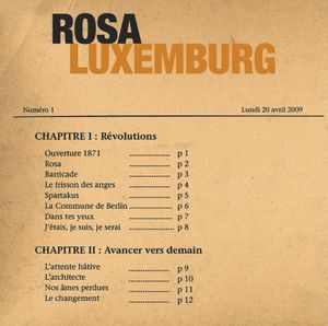 Rosa Luxemburg by ROSA LUXEMBURG album cover