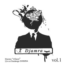 14 Faces Vol 1 by DJAMRA album cover