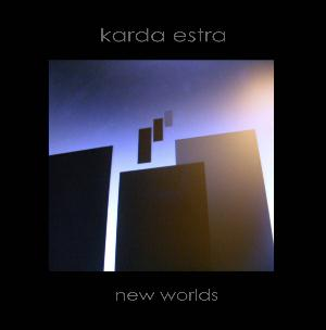 Karda Estra - New Worlds CD (album) cover