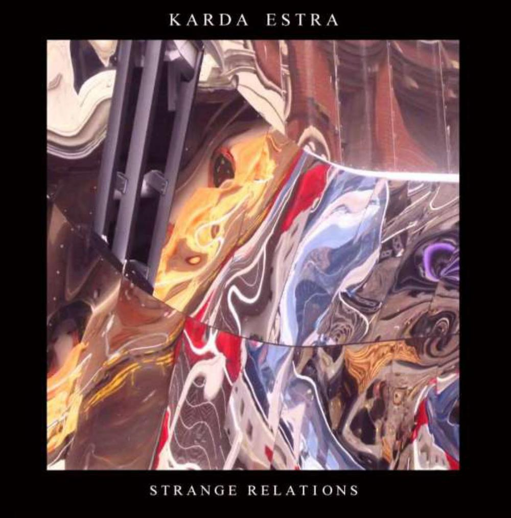 Strange Relations by KARDA ESTRA album cover