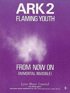 Flaming Youth From Now On / Space Child album cover