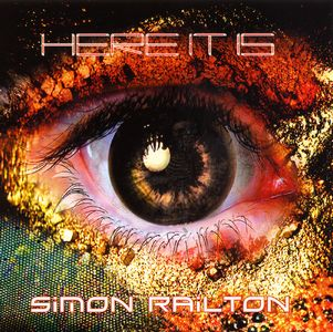 Simon Railton - Here It Is CD (album) cover