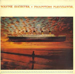 Wayne Shorter Phantom Navigator album cover