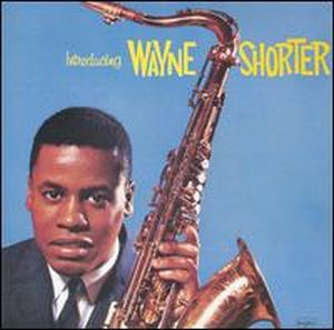 Wayne Shorter - Introducing Wayne Shorter CD (album) cover
