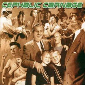 Exploiting Dysfunction by CEPHALIC CARNAGE album cover