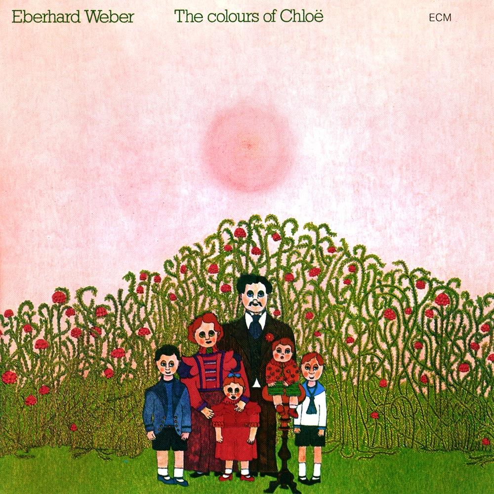 Eberhard Weber - The Colours Of Chloë CD (album) cover