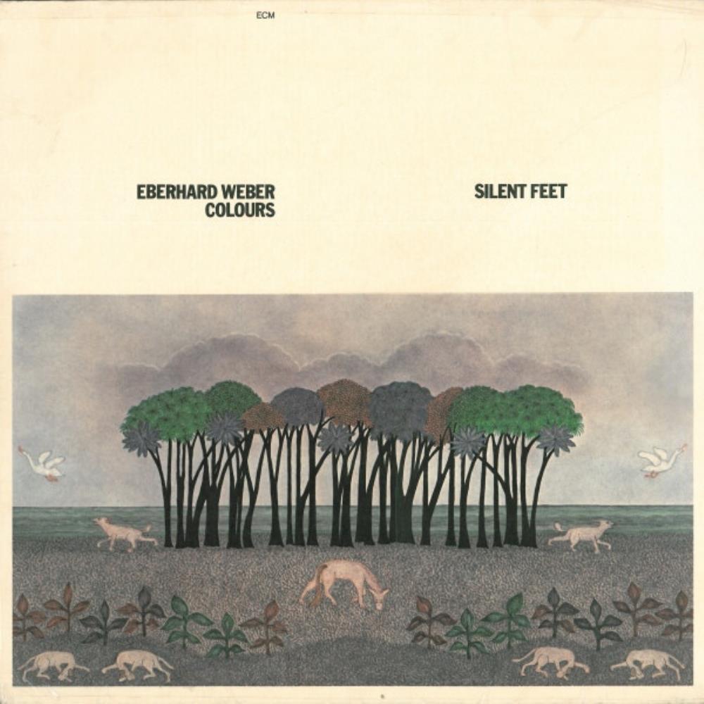 Eberhard Weber Colours: Silent Feet by WEBER, EBERHARD album cover