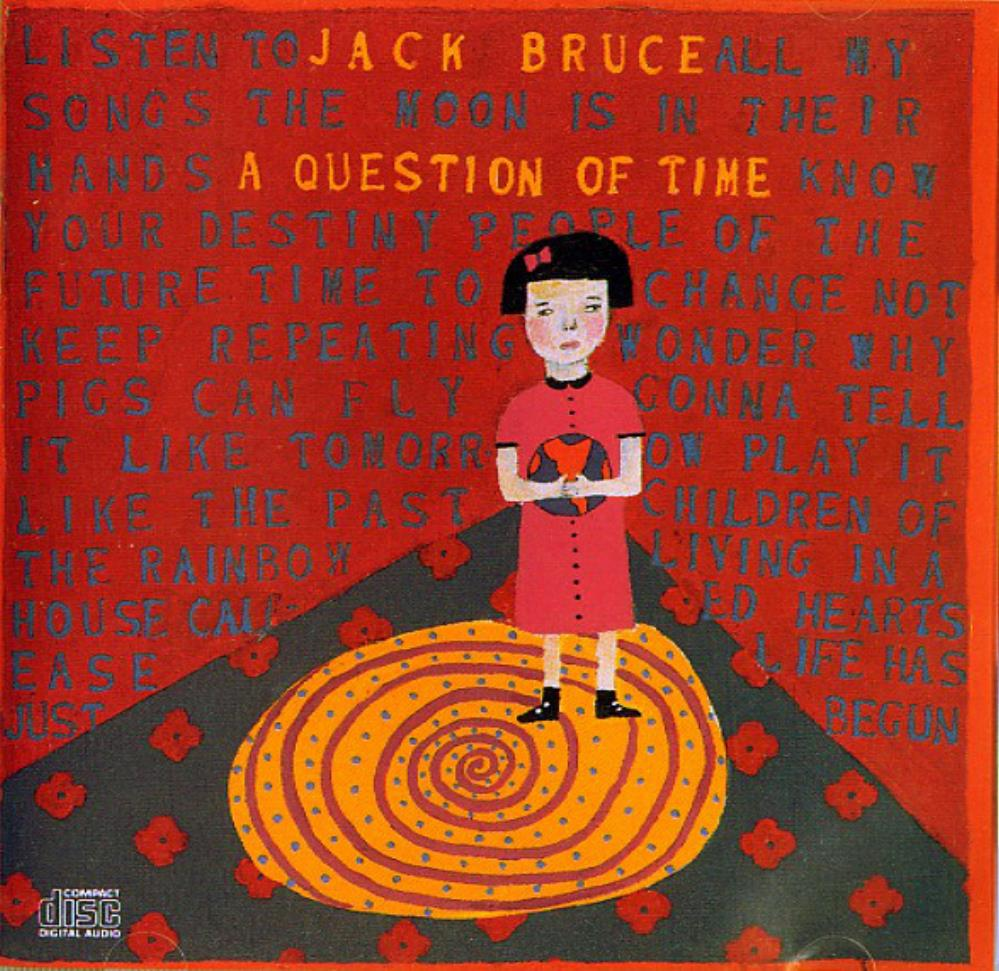 Jack Bruce A Question Of Time album cover