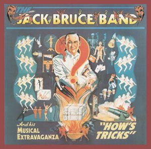 Jack Bruce - How's Tricks CD (album) cover