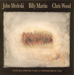 Medeski  Martin & Wood - Notes from the Underground CD (album) cover