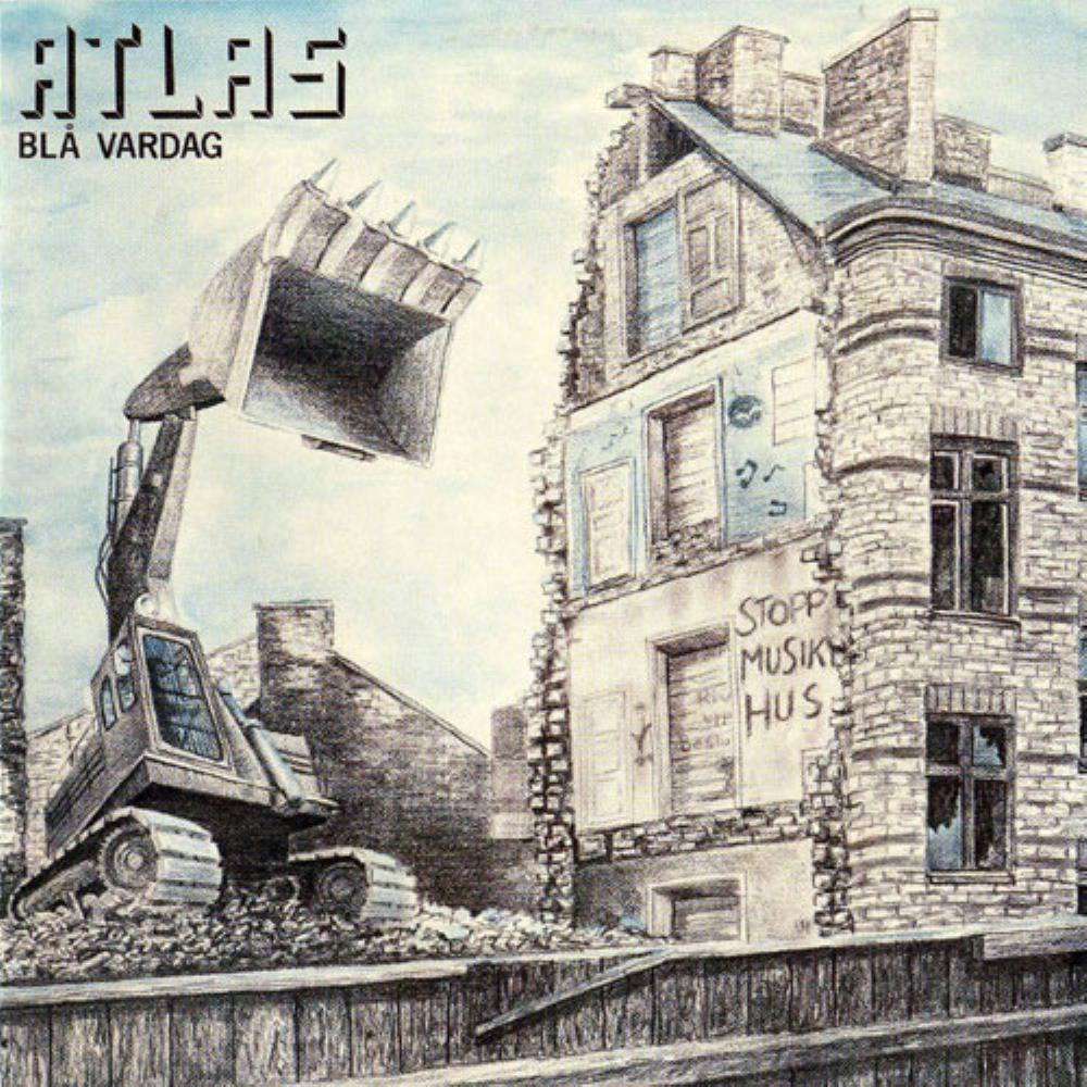 Blå Vardag by ATLAS album cover