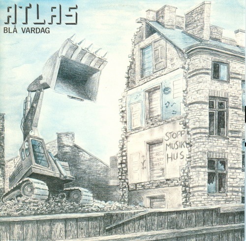 Atlas - Bl� Vardag  CD (album) cover