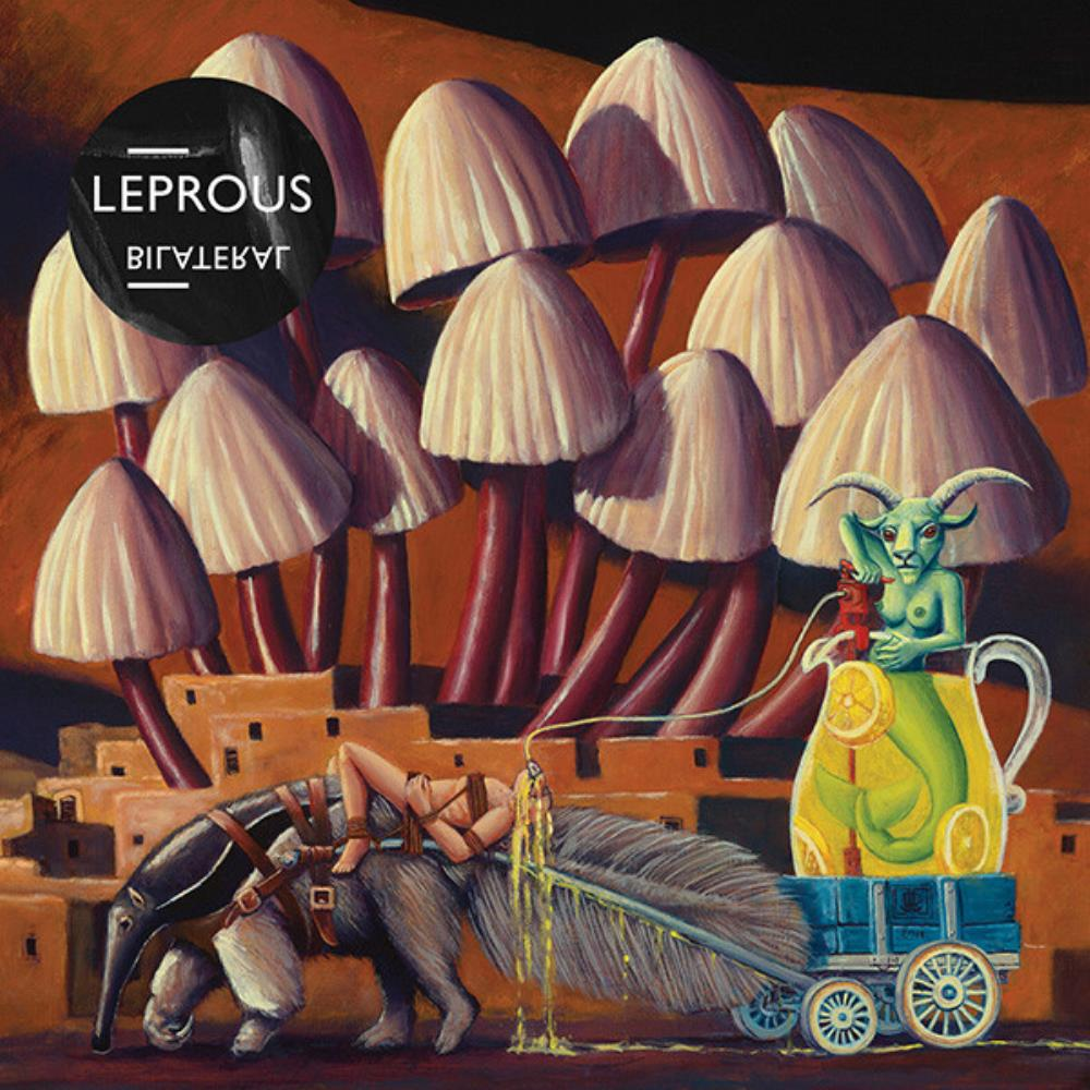 Leprous Bilateral album cover