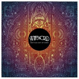 Bottled Out Of Eden by KNIFEWORLD album cover