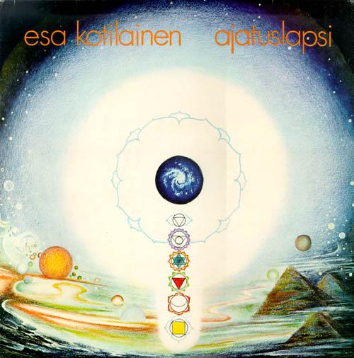 Ajatuslapsi by KOTILAINEN,  ESA album cover