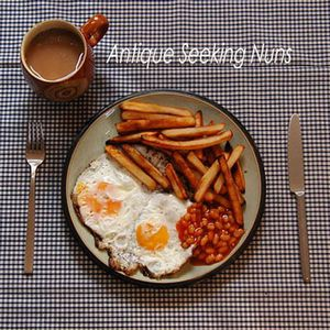 Antique Seeking Nuns - Double Egg With Chips And Beans CD (album) cover