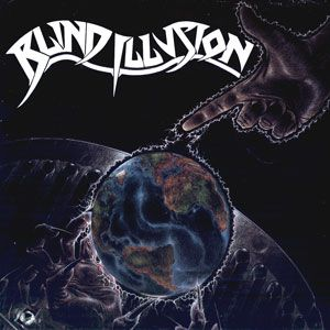 The Sane Asylum by BLIND ILLUSION album cover