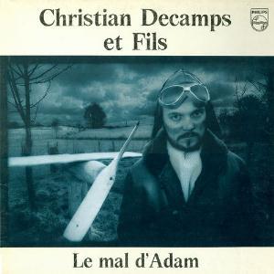 Le Mal d'Adam by DÉCAMPS, CHRISTIAN album cover