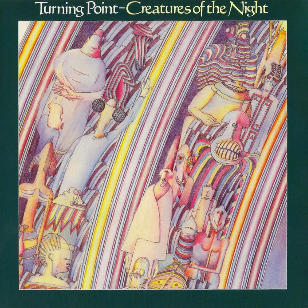 Creatures Of The Night by TURNING POINT album cover