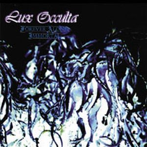 Lux Occulta Forever Alone, Immortal album cover