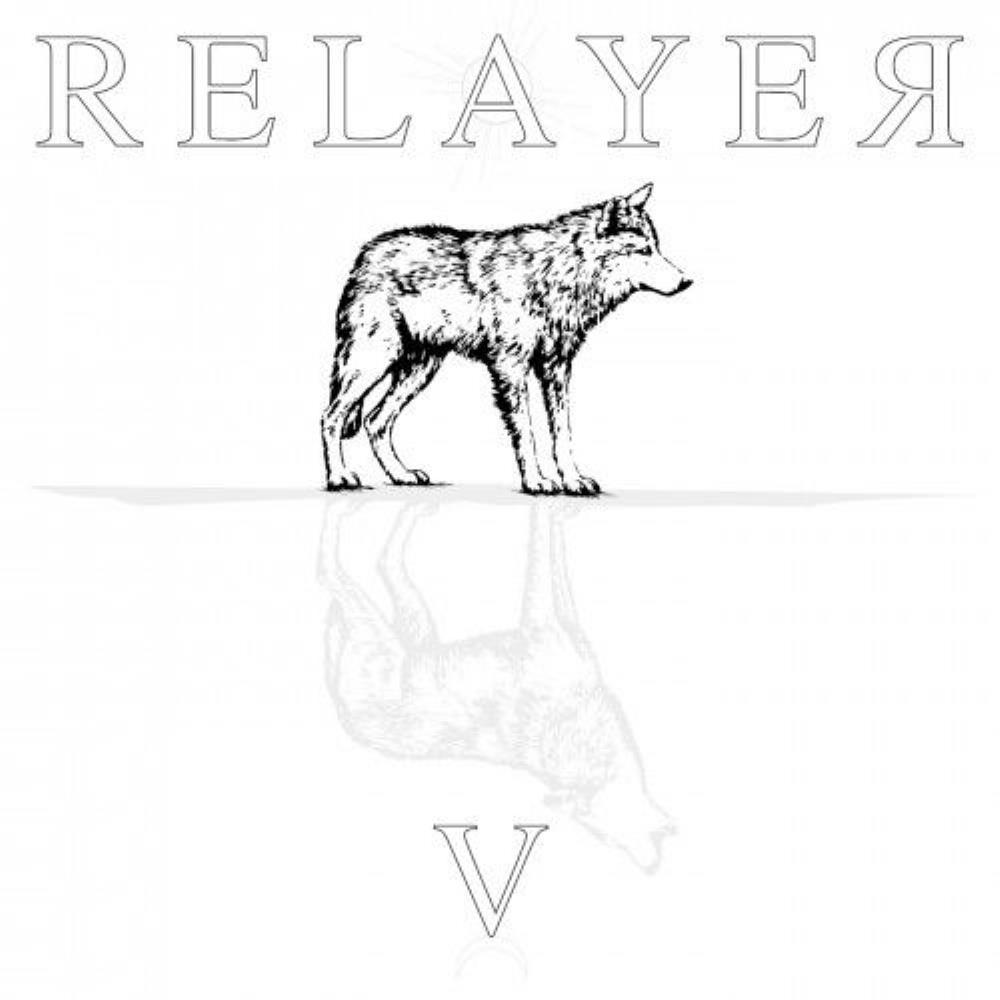 V by RELAYER album cover