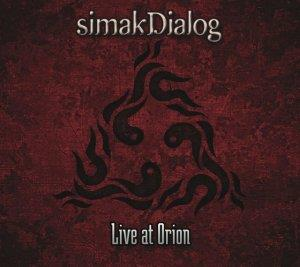 simakDialog - Live at Orion CD (album) cover