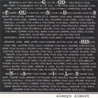 Always Almost - God Pounds His Nails CD (album) cover