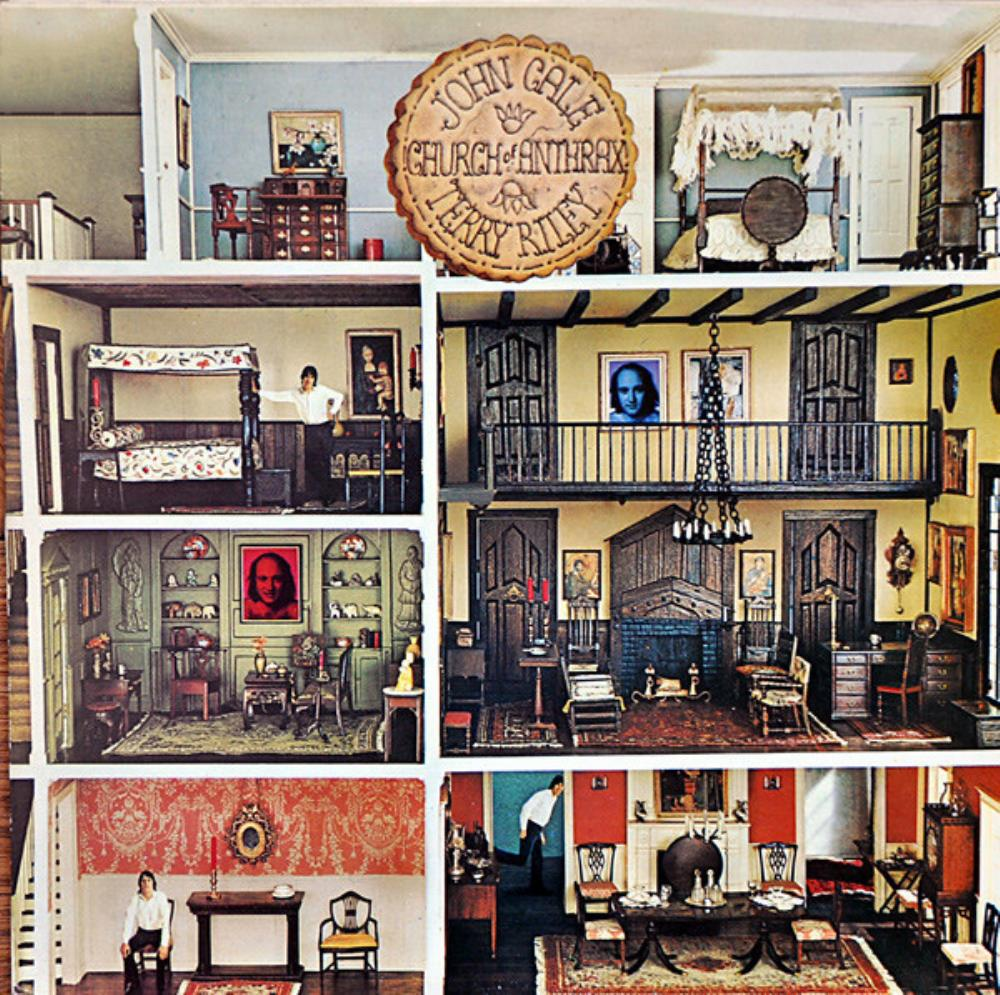 John Cale - John Cale & Terry Riley : Church Of Anthrax CD (album) cover