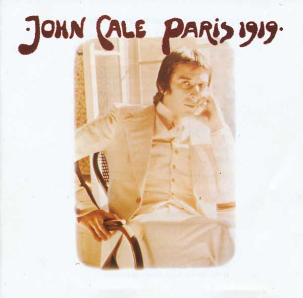 John Cale Paris 1919 album cover