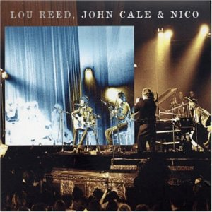 John Cale Le Bataclan '72 (with Lou Reed and Nico) album cover