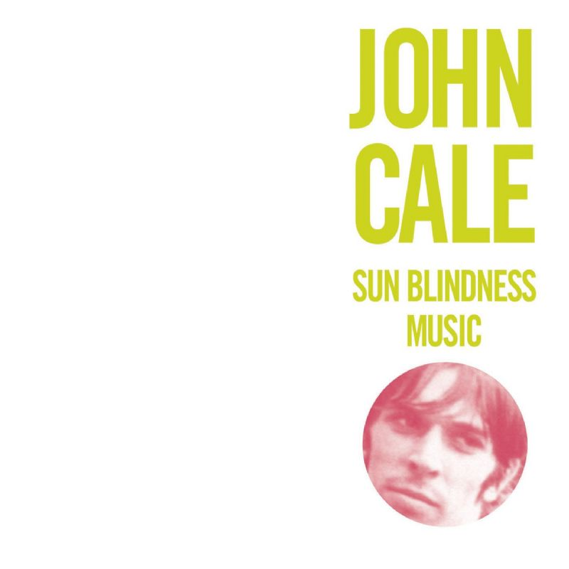John Cale Sun Blindness Music album cover