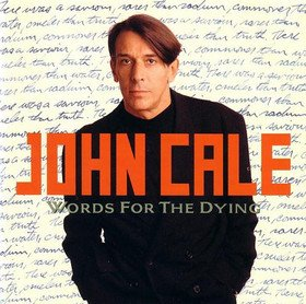 John Cale Words For The Dying album cover