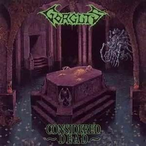 Gorguts Considered Dead album cover