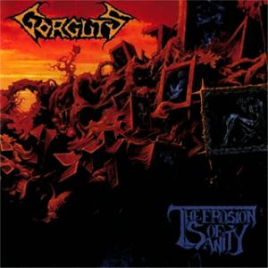 Gorguts - The Erosion of Sanity CD (album) cover